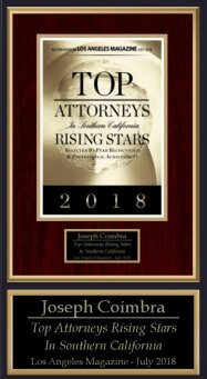 Top Attorneys Rising Stars 2018 - 2
